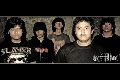 Social Black Yelling Band Thrash Metal Jakarta Foto Personil Wallpaper
