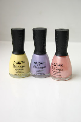 Nail polish, Nubar pastels