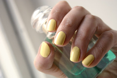 Nail polish, Nubar Lemon Sorbet