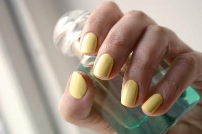 Nail polish, Nubar Lemon Sorbet