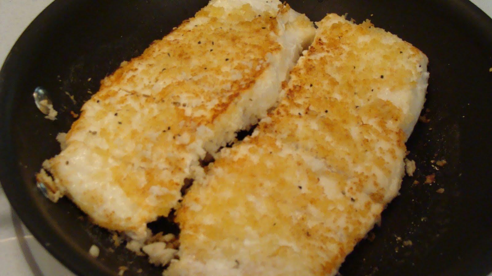 parmesan crusted fish delina 39 s bodacious eats
