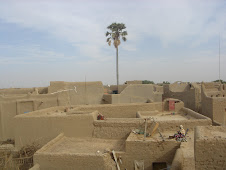rooftop view of Djenne
