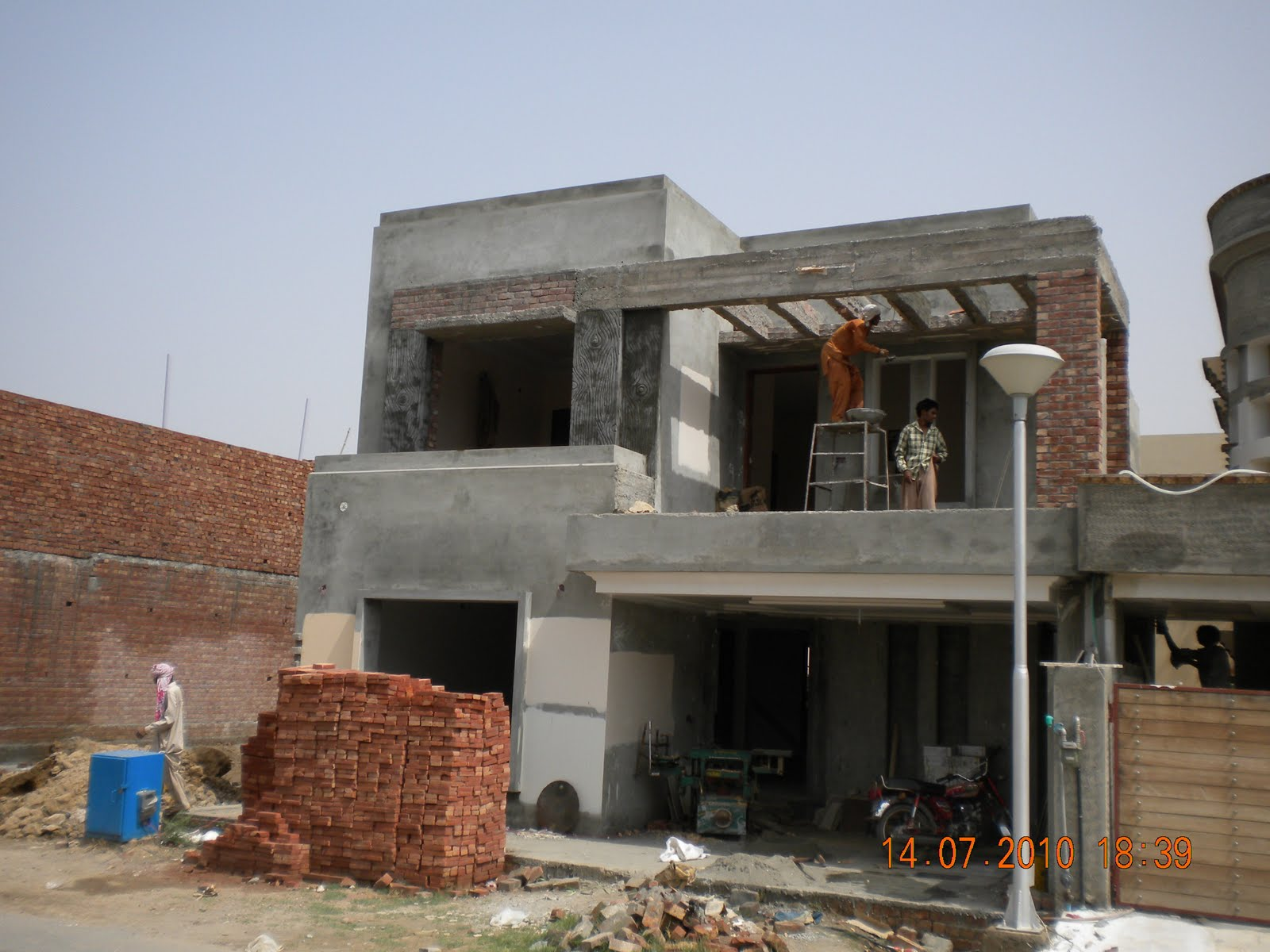 Hussain kaisrani 210 ali block bahria town lahore Construction cost of 5 marla house