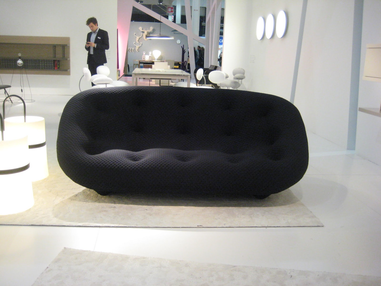 eclectikmix ploum ligne roset sofa designed by the bouroullec brothers. Black Bedroom Furniture Sets. Home Design Ideas