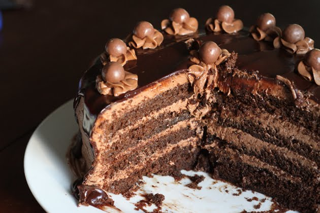 What's Cookin?: Chocolate Malt Cake