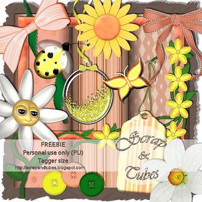 http://scrapandtubes.blogspot.com/2009/09/freebie-you-are-my-sunshine-kit.html
