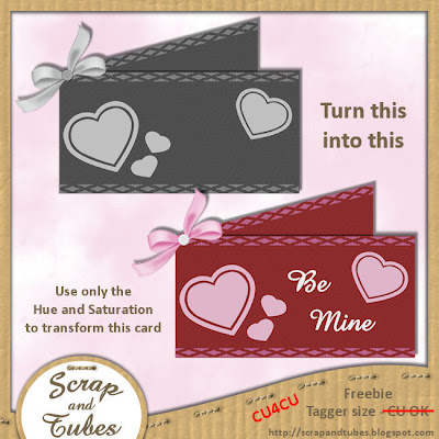 Valentine Card Template (CU4CU) Valentine+Card+Template_Preview_Scrap+and+Tubes
