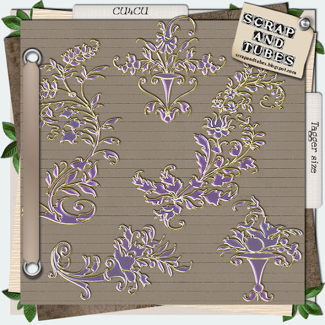 Lavender Charms (CU4CU) Lavender+Charms_Preview_Scrap+and+Tubes