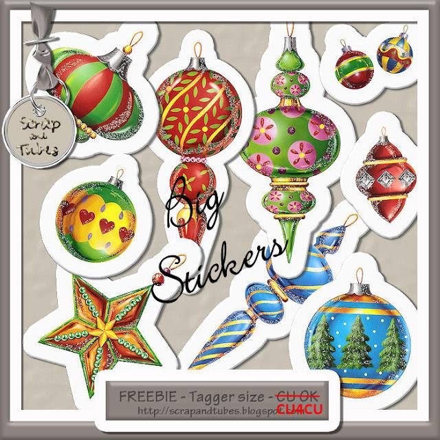 Christmas Stickers 5 (CU4CU) Christmas+Stickers+5_Preview_Scrap+and+Tubes