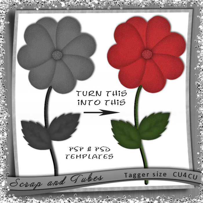 Hearts Flower Template (CU4CU) .Hearts+Flower+Template_Preview_Scrap+and+Tubes