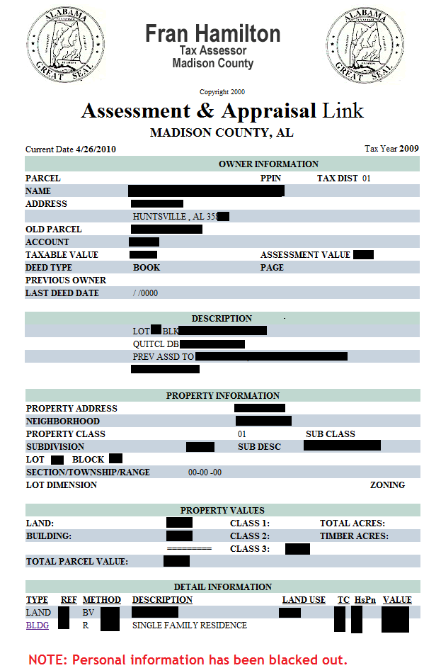 Madison County Tax Assessor | Madison County, AL