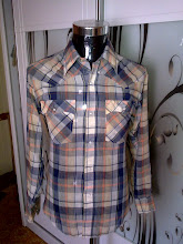 VINTAGE WESTERN LEVIS PEARL SNAP BUTTON SHIRT (SOLD)