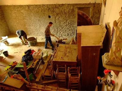 Rénovation de l'église de Pomy I