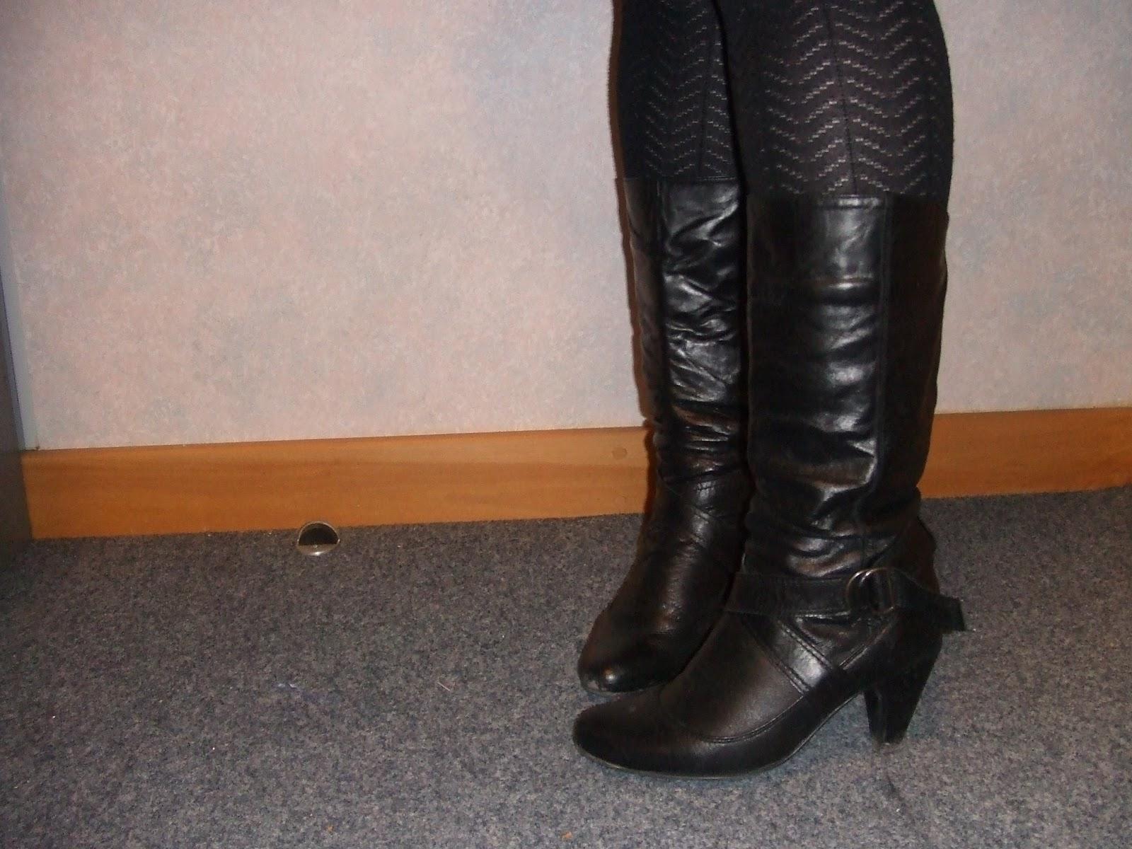 Wearing Mix Matched Shoe Sizez