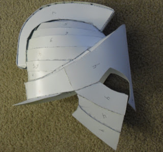 Simple Pepakura Helmet