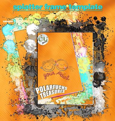 http://polarfuchs-treasures.blogspot.com/2009/04/grunge-splatter-frame-template-scrap.html