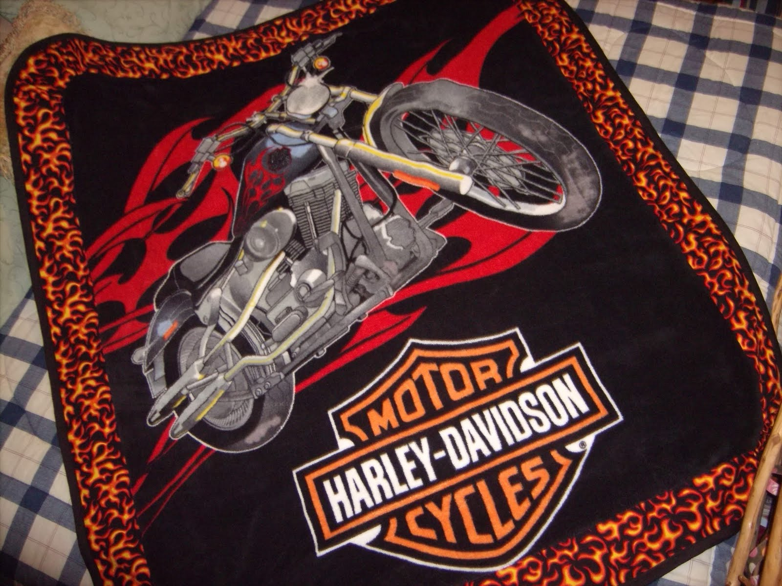 Harley-Davidson Fleece Fabric