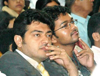 Vijay and Ajith may be rivals in their professional lives and from the two