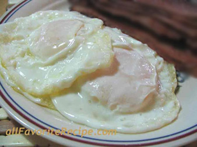 eggs over medium