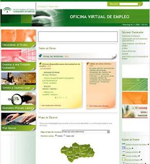 Oficina virtual, paro real