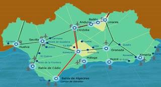 Red de Nudos Estratégicos y Logísticos de Andalucía