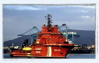 Salvamento marítimo buque polivalente