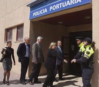 Visita Consejera de Gobernación a Centro Control Policía Portuaria