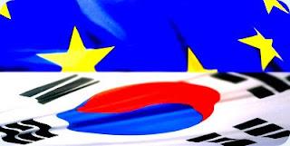 skorea UE flag