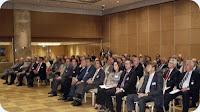 La asistencia de empresarios del sector naviero y portuario ha sido muy alta, superior al centenar