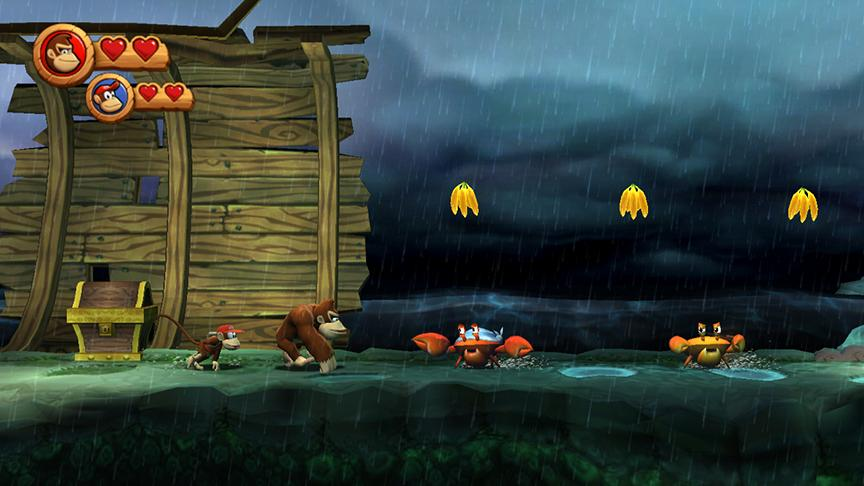 Nintendo Wii: Donkey Kong Country Returns New Screens