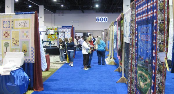 machine quilters expo