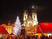 Prague, Chech Republic Christmas Market Winter 2006