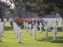 Omaha Beach Cemetery, Normandy, France Summer 2006