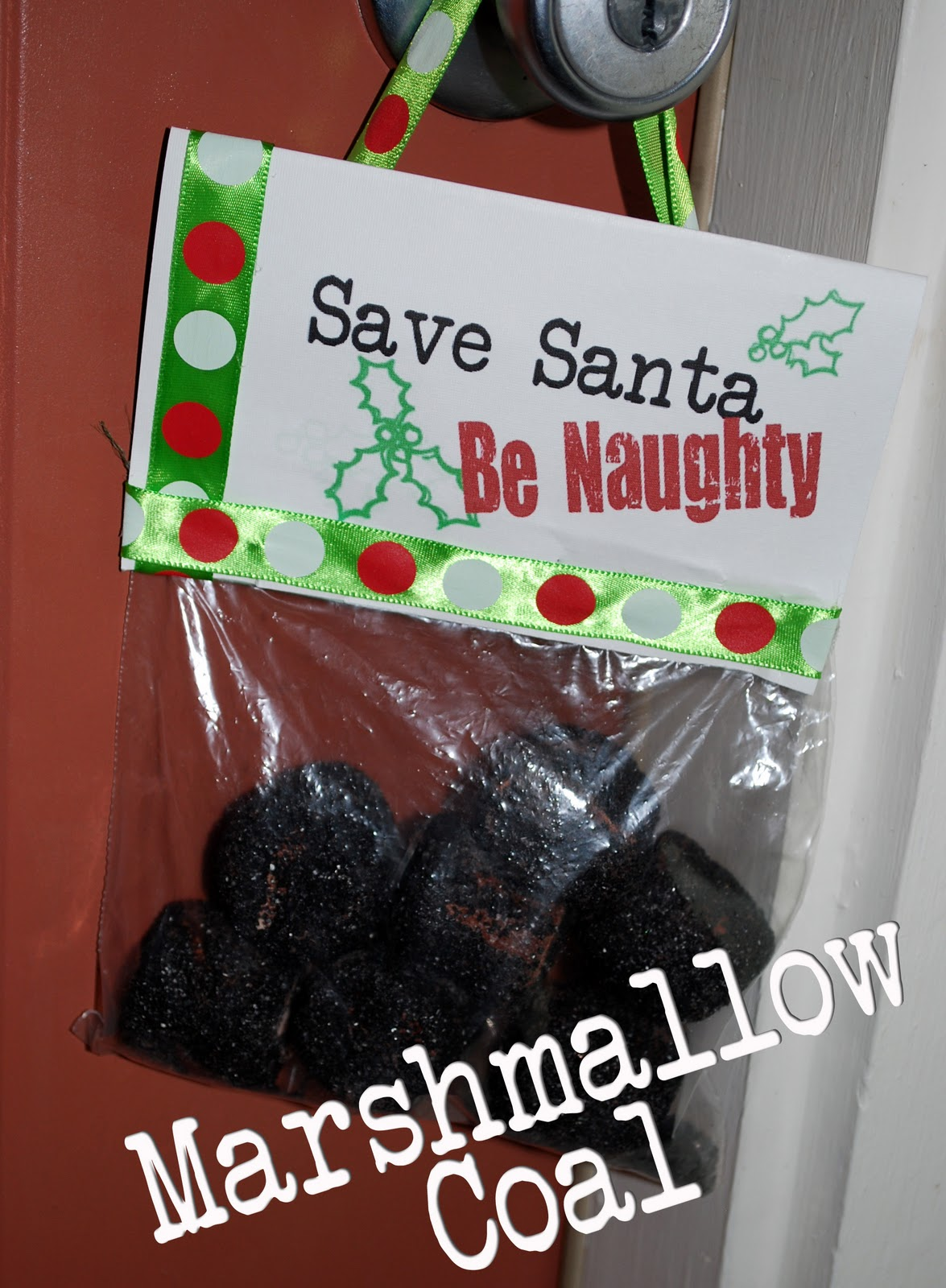 Perfect Christmas Gift: Edible Coal - Clumsy Crafter