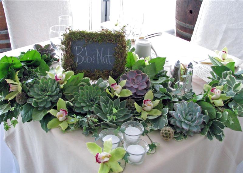 Steven bruce design green wedding at the garrison west park winery sciox Images