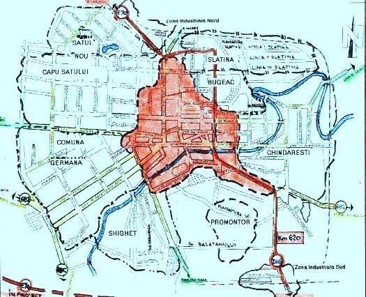 Fizionomia orasului