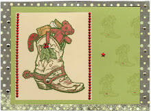 Christmas Boot Card