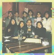 Celebrando el Cumpleaños del profesor y amigo Mario Portocarrero