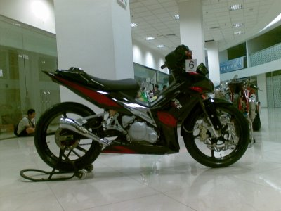 Modifikasi Motor Jupiter MX 135 cw 2010 African Costum Design