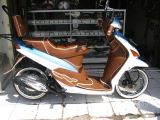 New Mio Scooter Modification