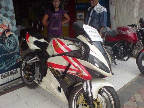 Modif Fairing Honda CBR 150 R
