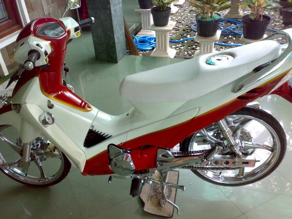 Exotic Motor  MODIFIKASI HONDA SUPRA X 125