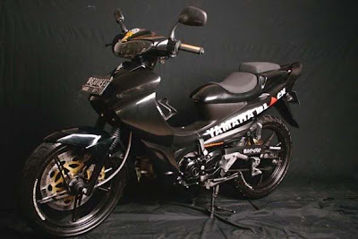 YAMAHA+JUPITER+Z+MODIFICATION 2011 Modifikasi Motor Yamaha Jupiter Z Black Moto GP