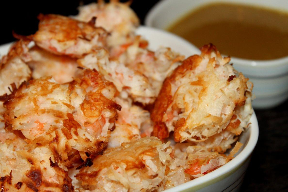 Teaspoon and A Pinch: Baked Coconut Shrimp