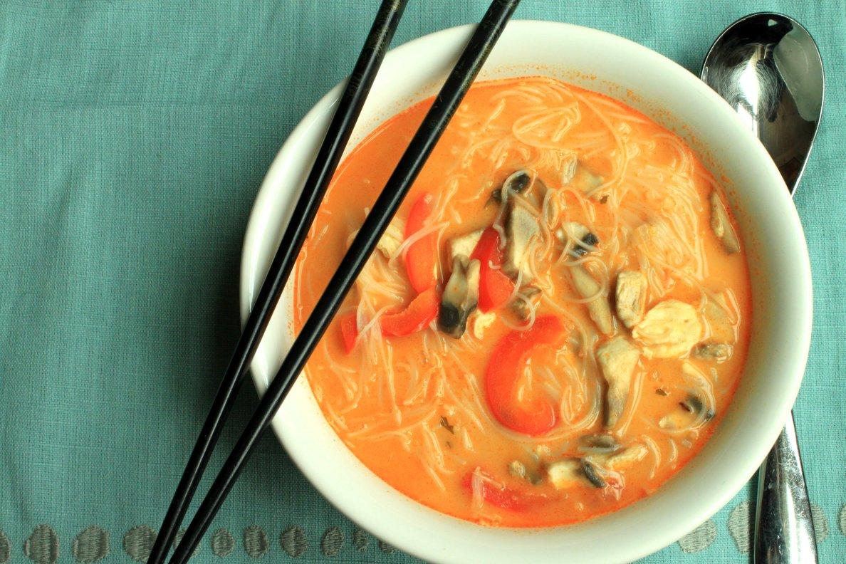 Teaspoon and A Pinch: Thai Chicken Soup