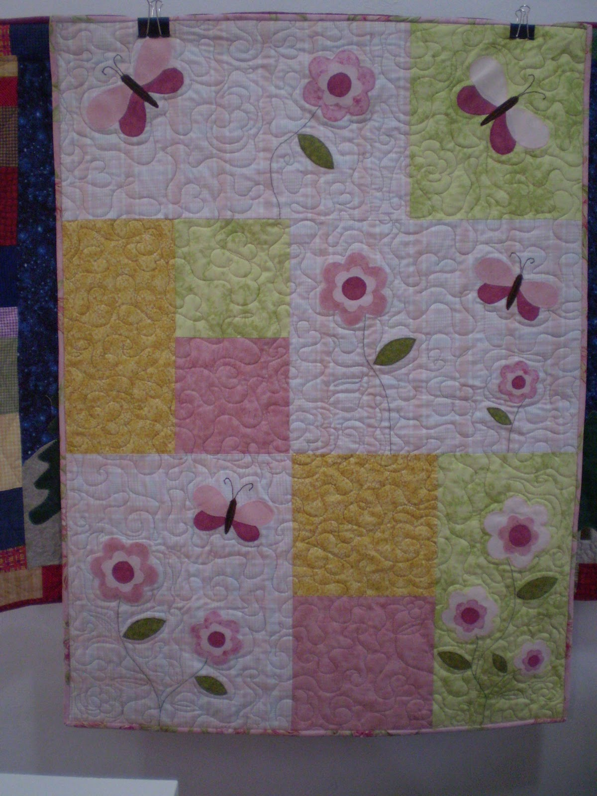 La casita del quilting quilts para beb s - La casita del patchwork ...