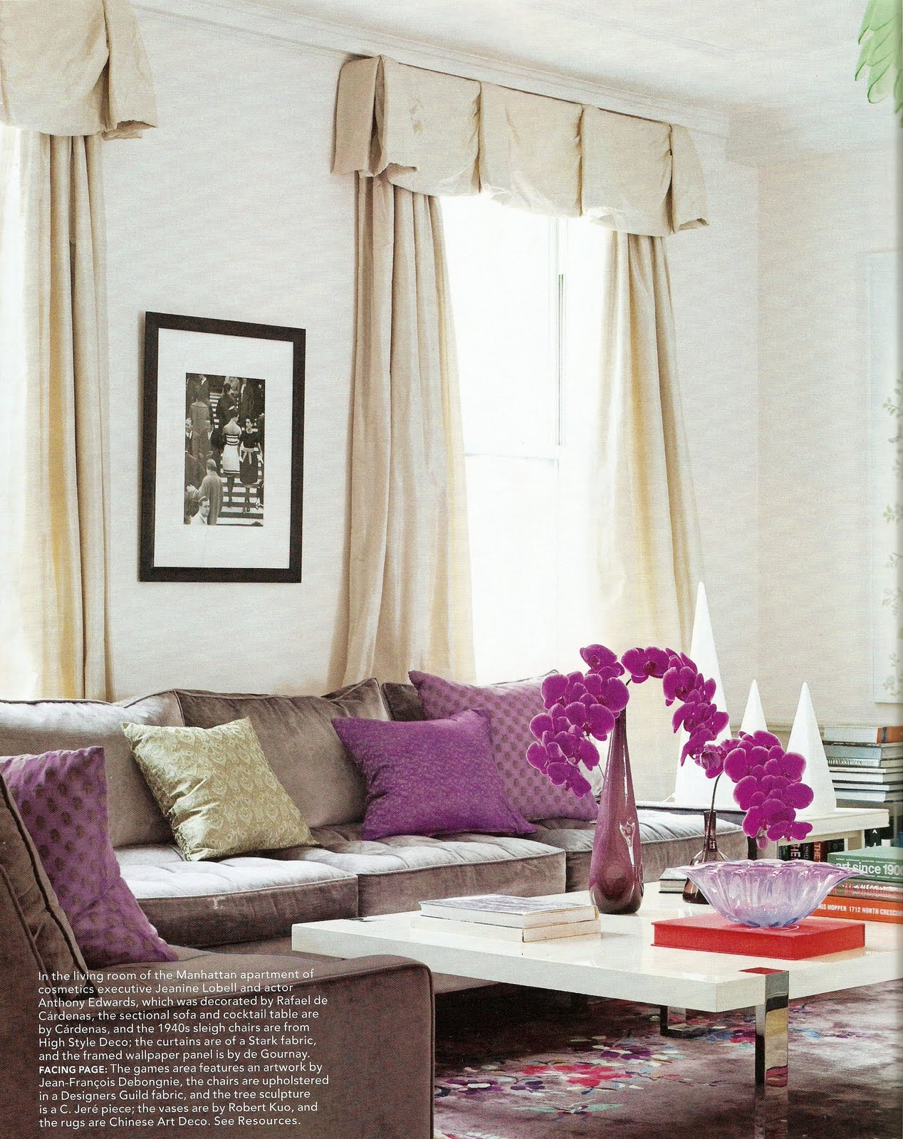 Http Annechovie Blogspot Com 2010 09 Elle Decor Fashion Issue Html
