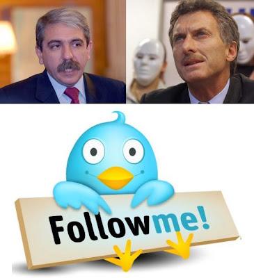 Politicos argentinos en Twitter