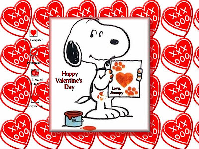 Snoopy Valentine Wallpaper