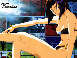 Hot Faye Valentine Wallpaper